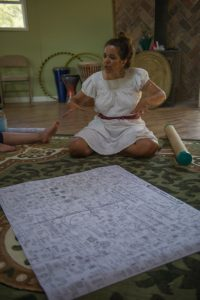 Teaching in the Yurt